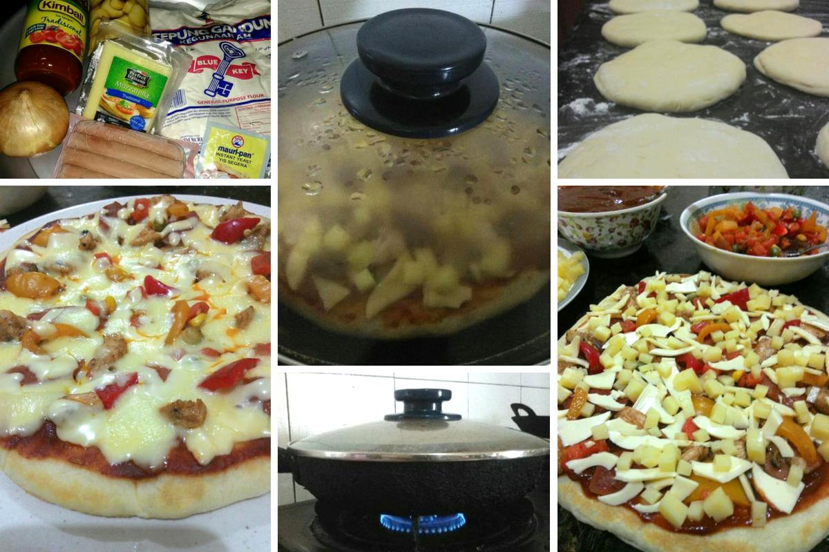 100 Homemade Pizza Kuali Jauh Lebih Sedap Mesti Cuba