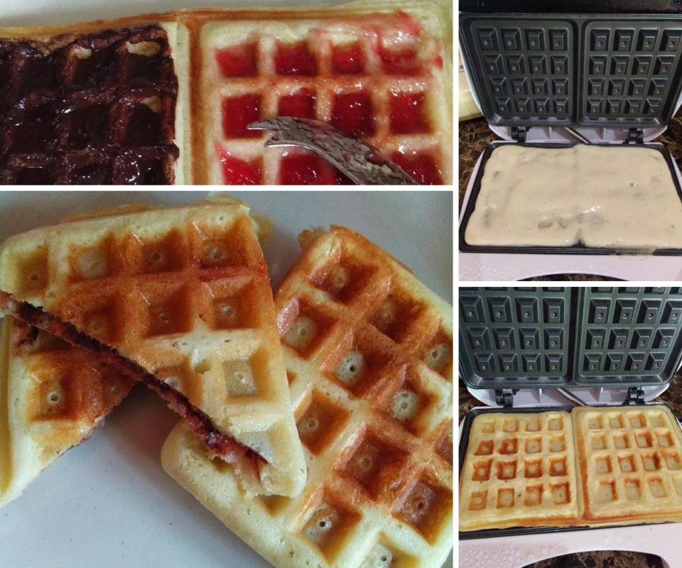 Cara Bancuh Adunan Masak Waffle Yang Sedap Secara Homemade