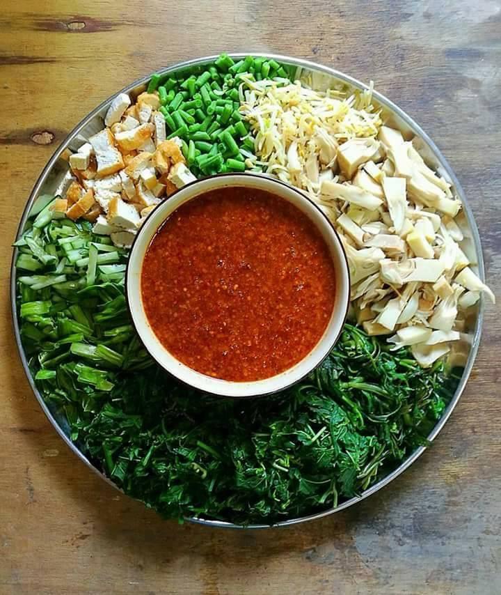 Resipi Kuah Pecal Mak Ton Salad Orang Jawa