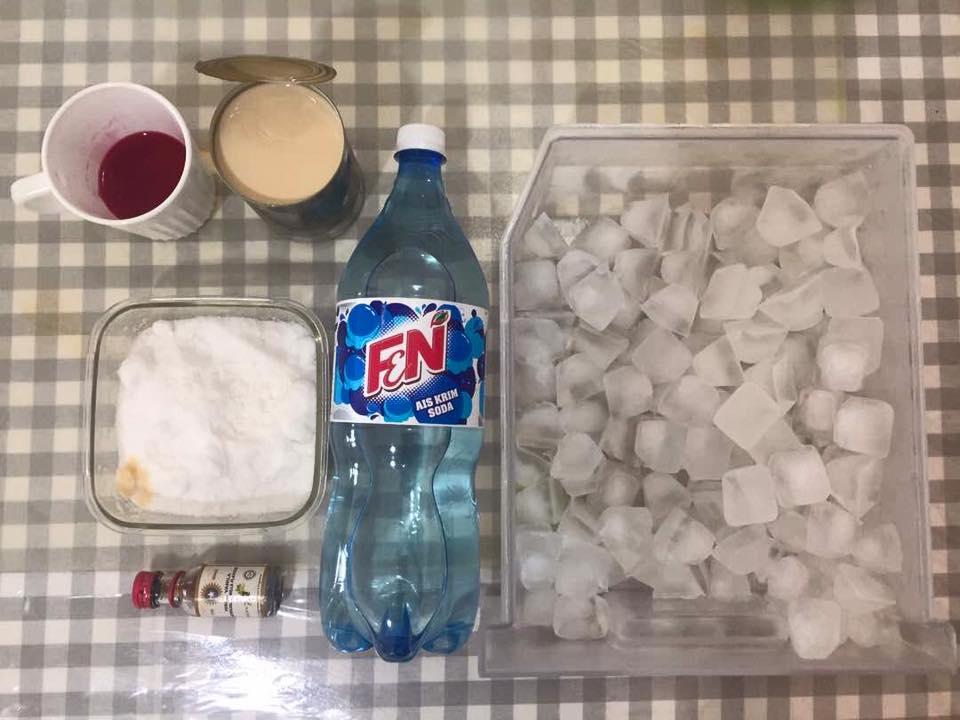 Sirap Bandung Soda Merah Jambu Yang Paling Legend Rasa