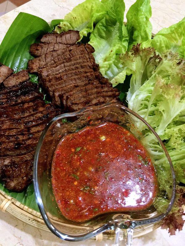 Daging Bakar & Sos Pencicah Ala Dannok Thai - RASA