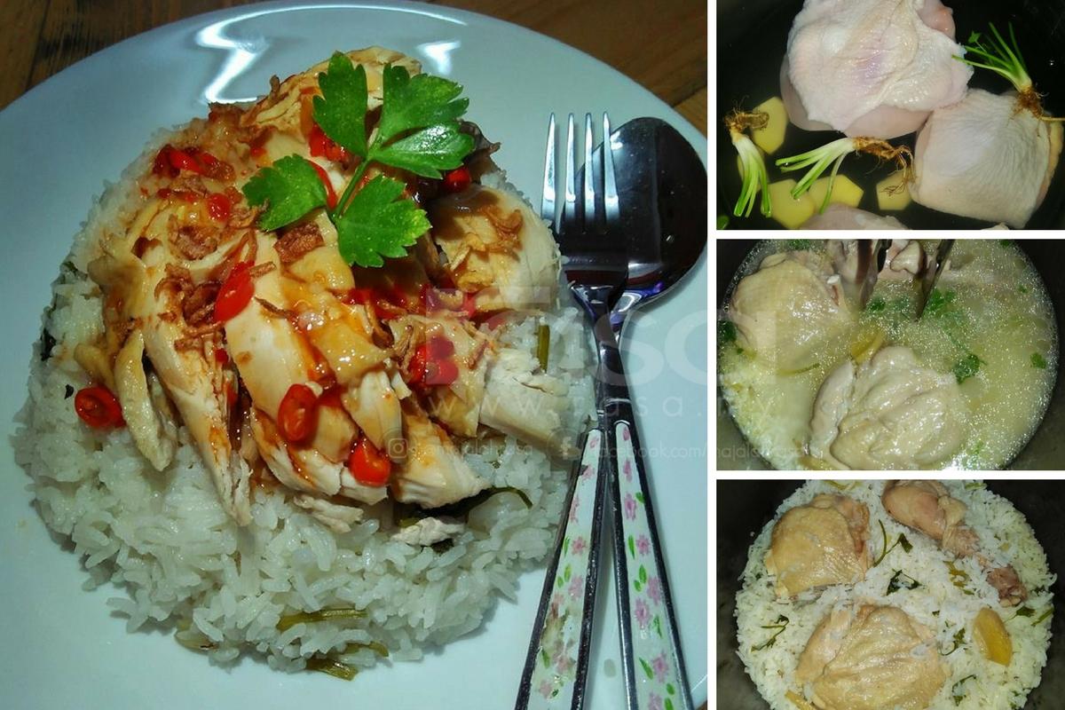 Resipi Nasi Ayam Thai Viral Perghhhmudah Sedap Rupanya