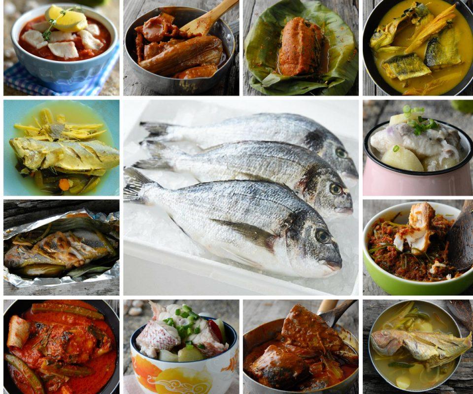 resipi mudah terbaik  masak ikan segar memang terasa manis isi ikan Resepi Ikan Siakap Masak Asam Pedas Enak dan Mudah