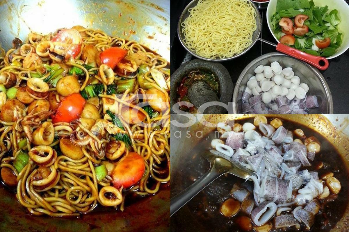 Gambar Mie Goreng Sayur - Gambar Makanan