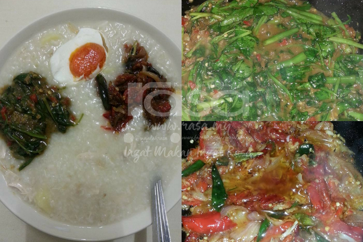 ayam gambar bubur ayam png Resepi Bubur Nasi Sedap dan Enak dan Mudah