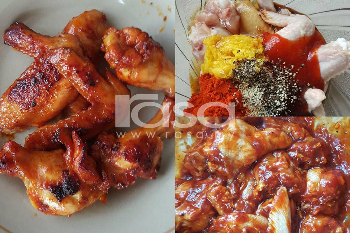 Ratah Kepak Ayam Sweet Spicy Istimewa Sampai Tinggal