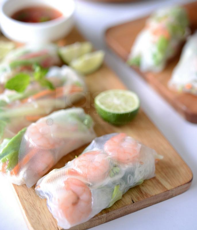 Mengidam Nak Makan Popia Vietnam Resipi Mudah Beserta Sos