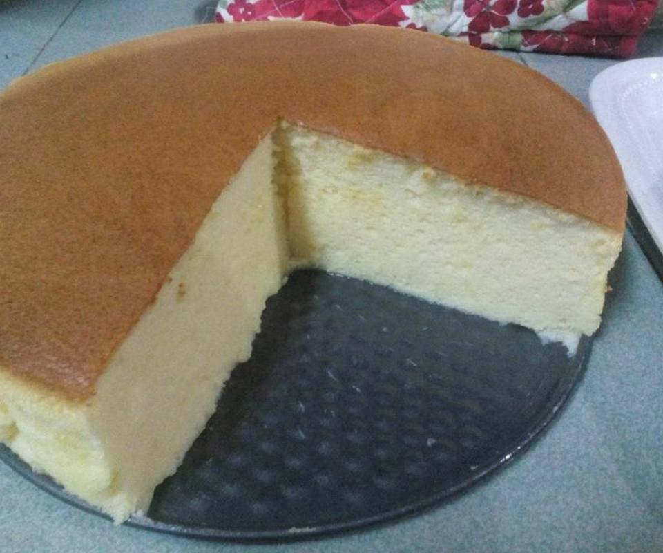 Resipi Japanese Cotton Cheesecake Versi Bajet Lembut Gebu