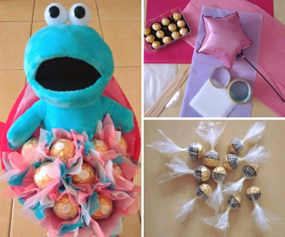Diy Bouquet Coklat Teddy Bear Untuk Majlis Graduasi Lebih