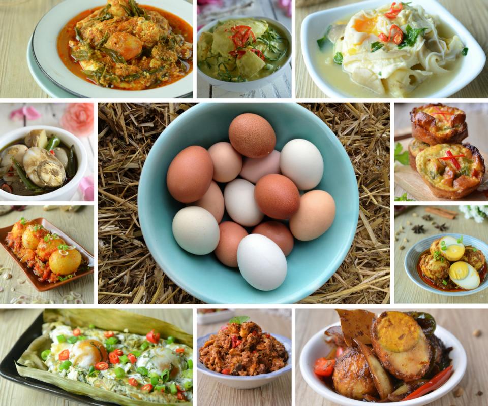 Idea Masakan Lauk Pauk Berasaskan Telur Ayam, Telur Itik & Telur Masin. - RASA