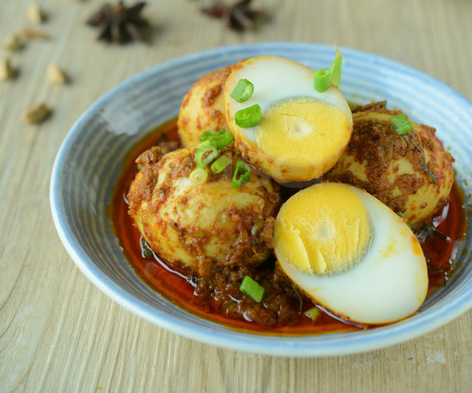 Resepi Kari Telur Rebus Simple - Indonesian Food Recipes