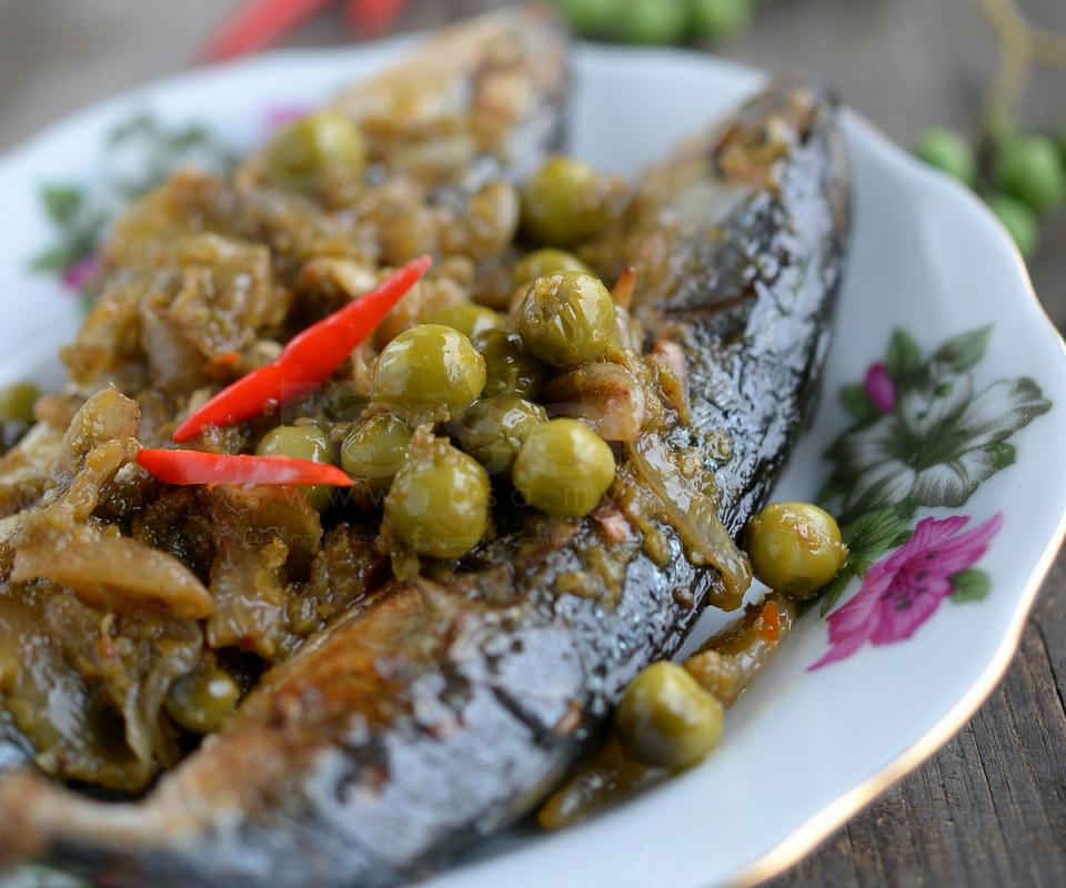 koleksi resipi lauk pauk kampung  sedap mudah masak Resepi Ikan Kembung Masak Sambal Serai Enak dan Mudah