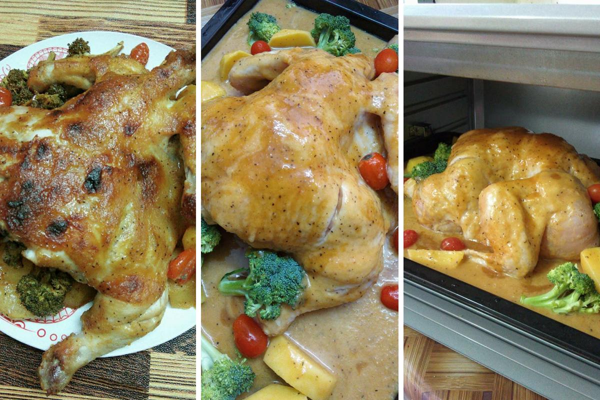 Resipi Ayam Bakar Ala Kenny Rogers Memang Sedap Berdesup Lesap Sekejap Jer Licin