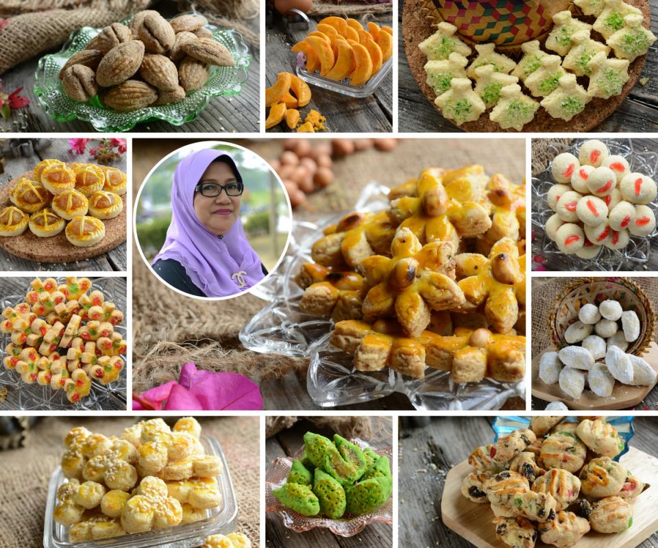 Permalink to Bonda Sharifah Mariam Kongsi 20 Resipi Biskut Raya Lama Kegemaran Orang Dulu-Dulu.