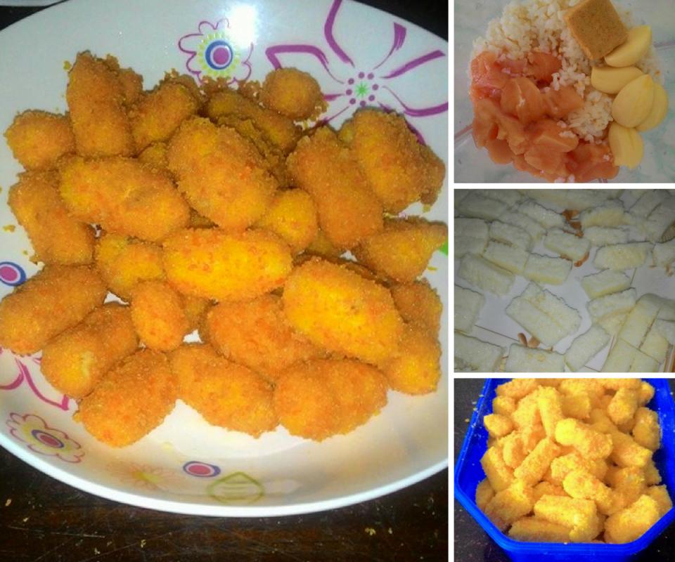 Dapur Kreasiku Nugget Tahu: Resipi Nugget Homemade Sedap Boleh Buat Guna Lebihan Nasi