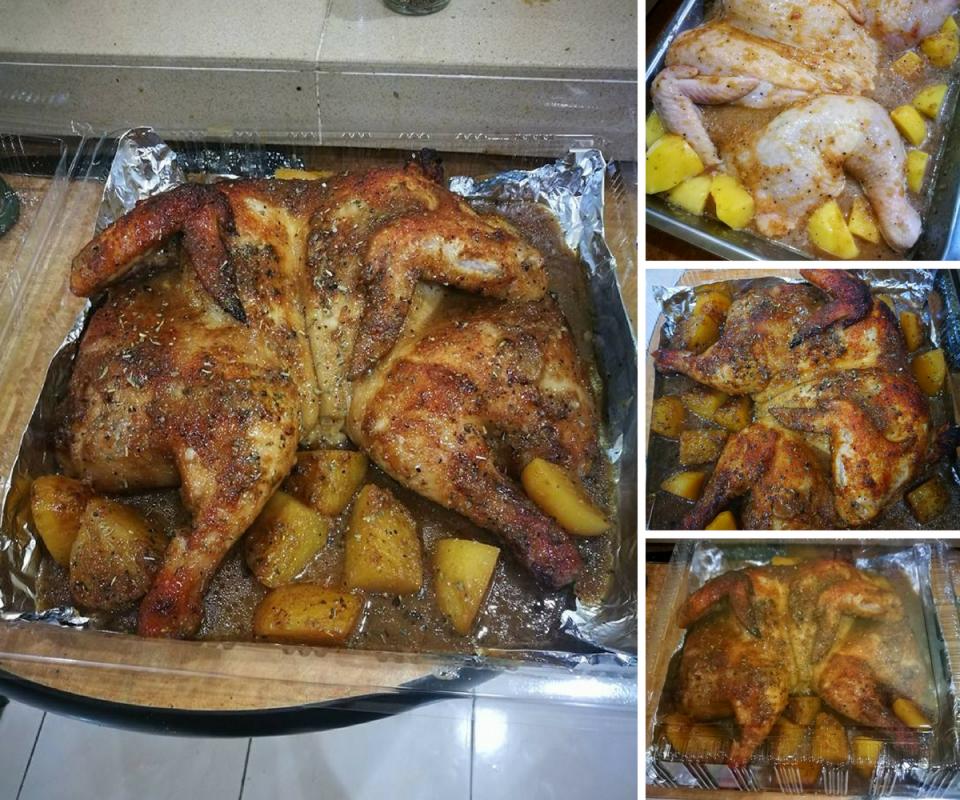 Resipi Ayam Panggang Homemade Mudah Jimat Lebih Sedap Rasa