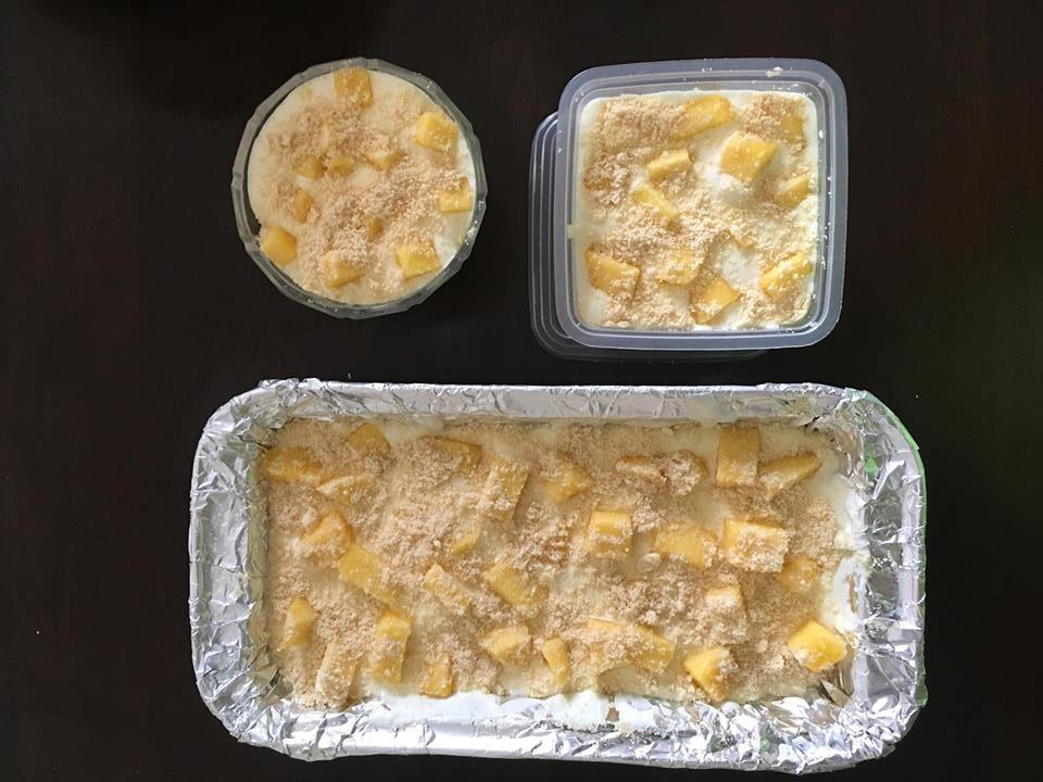 fuhh terliurnya  tengok mango float dessert ni rasa Resepi Kek Coklat Tanpa Susu Cair Enak dan Mudah