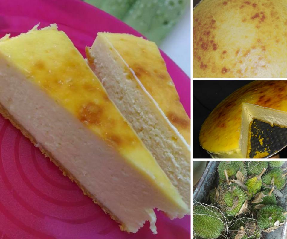 Resipi Kek Keju Durian Guna Blender Memang Terlajak Mudah