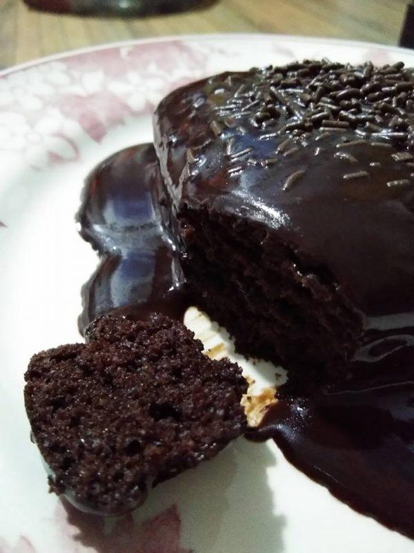 Resipi Kek Coklat Moist Sedap Gebu Kurang Manis Viral Di