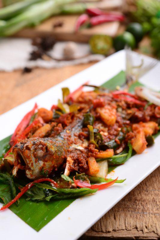satu pes sambal   jenis resipi sedap mudah  pantas dimasak rasa Resepi Ikan Kembung Masak Sambal Serai Enak dan Mudah