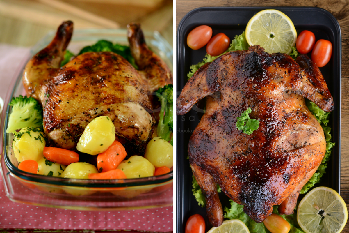 2 Resipi Ayam Panggang Paling Mudah Yang Boleh Masak Guna Oven Di