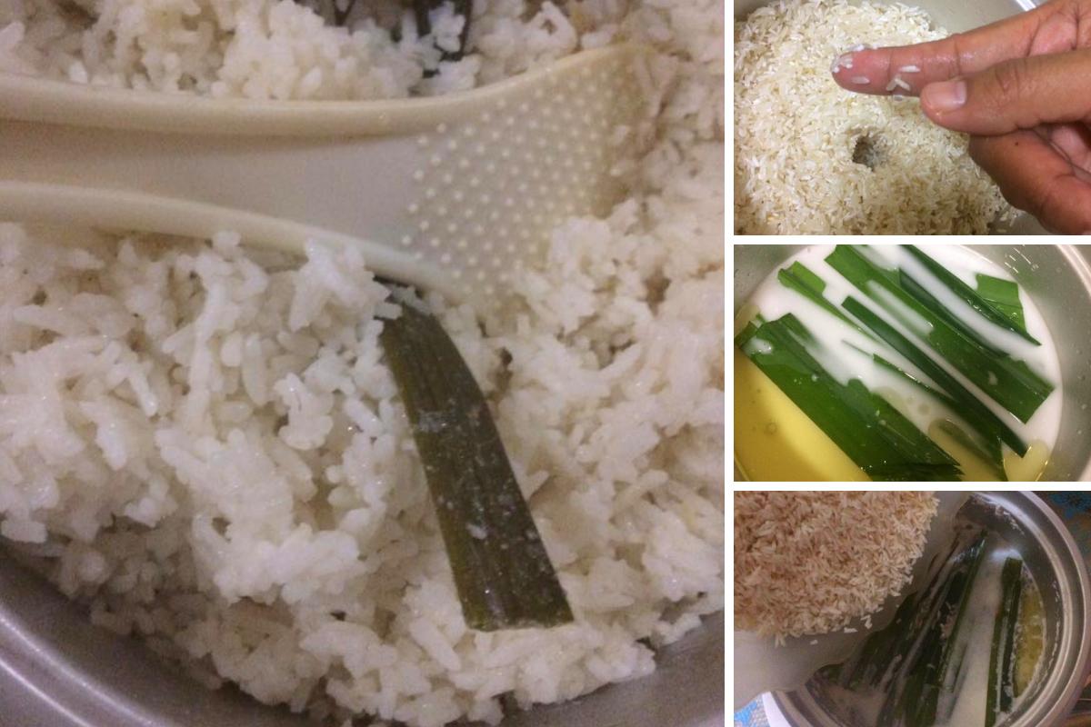 Cara Masak Nasi Lemak Wangi Lembut Cantik Sebiji Sebiji Hanya Guna Rice Cooker