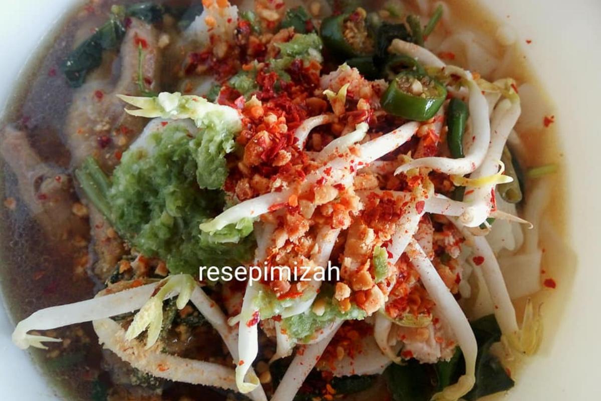 masak kuetiau  thailand  mudah sedap Resepi Laksa Mee Goreng Enak dan Mudah