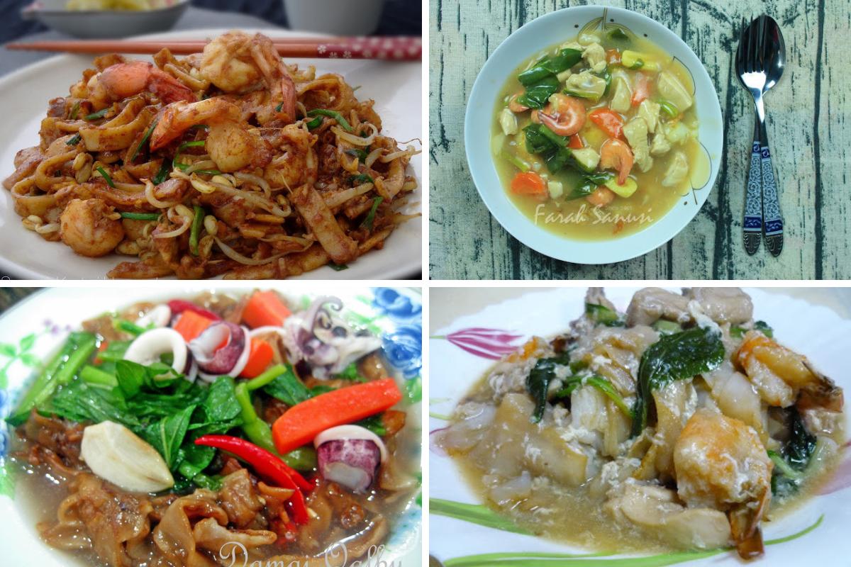 Pelbagai Hidangan Kuey Teow Mudah Memang Sedap Rasa