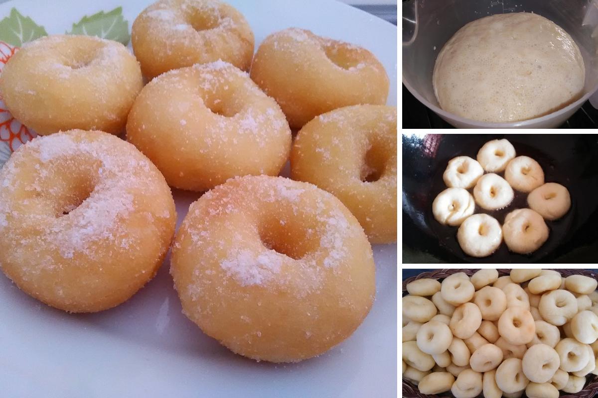 Cara Buat Donut Kampung Lembut Tanpa Guna Telur Tanpa Uli