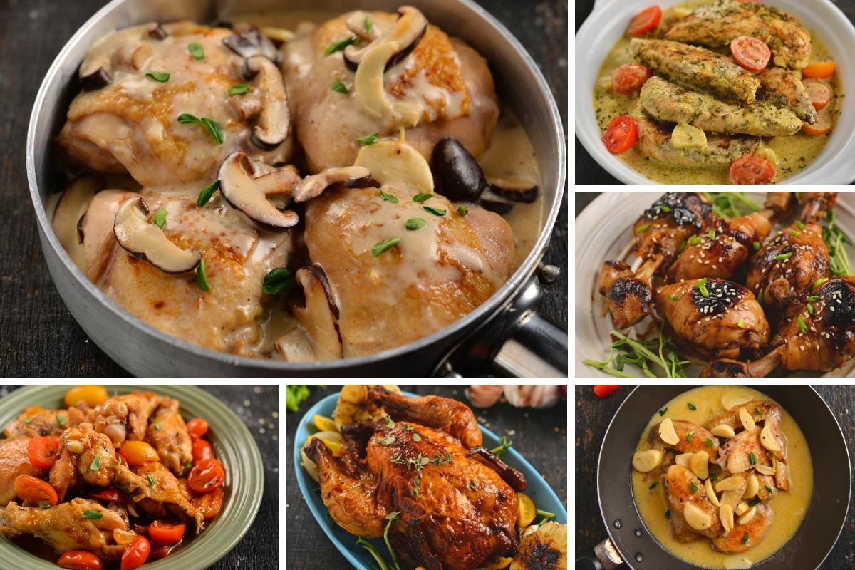 Koleksi Resipi Masakan Berasaskan Ayam Mudah Sedap Rasa