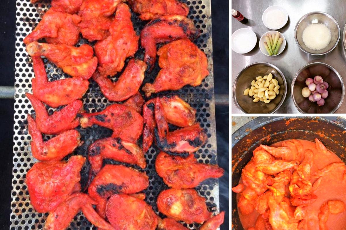 Cara Perap Kepak Ayam Madu Sedap Macam Pasar Malam