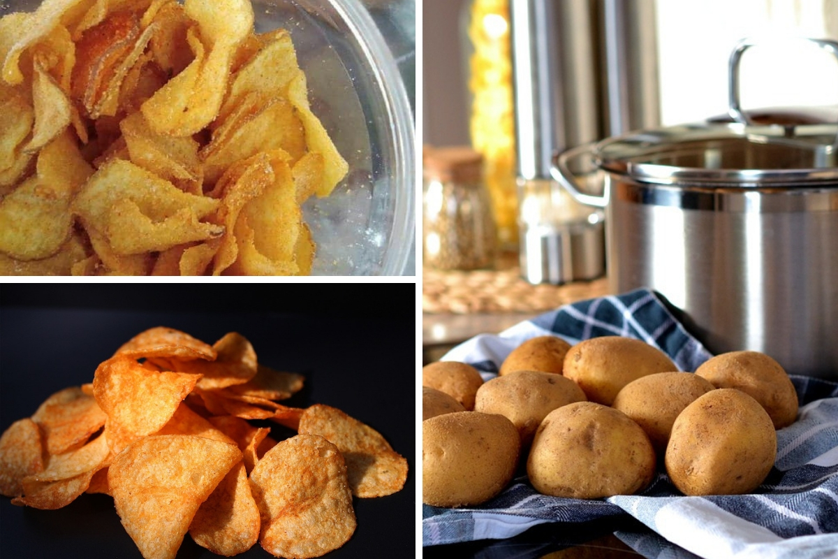 Resipi Mudah Buat Potato Chip Ala Mr Potato Secara Homemade