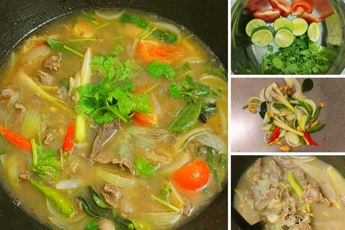 Cara Masak Sup Daging Resipi Ori Thai Mudah Sangat Sedap
