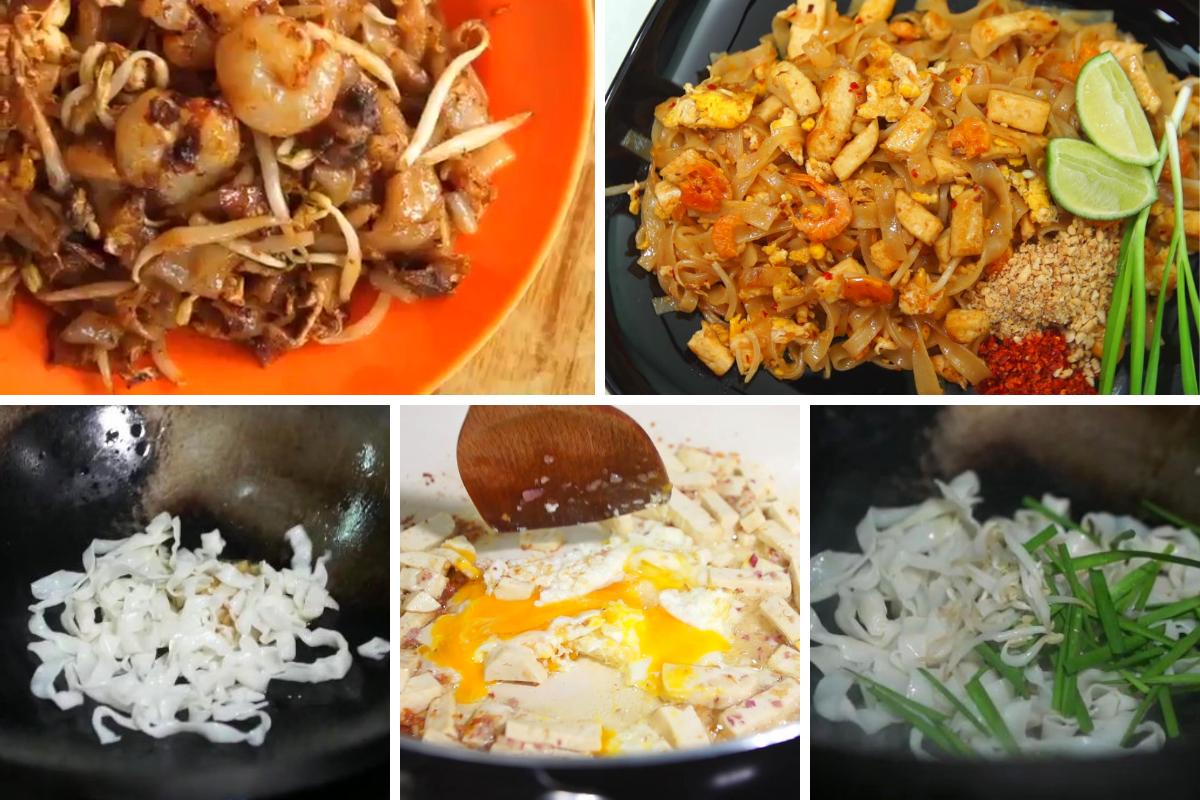 Resipi Pad Thai Char Kuey Teow Yang Sedap Dan Mudah Rasa