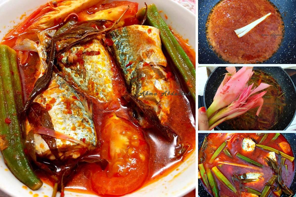 resepi ikan kembung masak asam pedas resep ikan kembung asam pedas oleh olvi putri cookpad Resepi Masak Asam Pedas Ikan Baung Enak dan Mudah