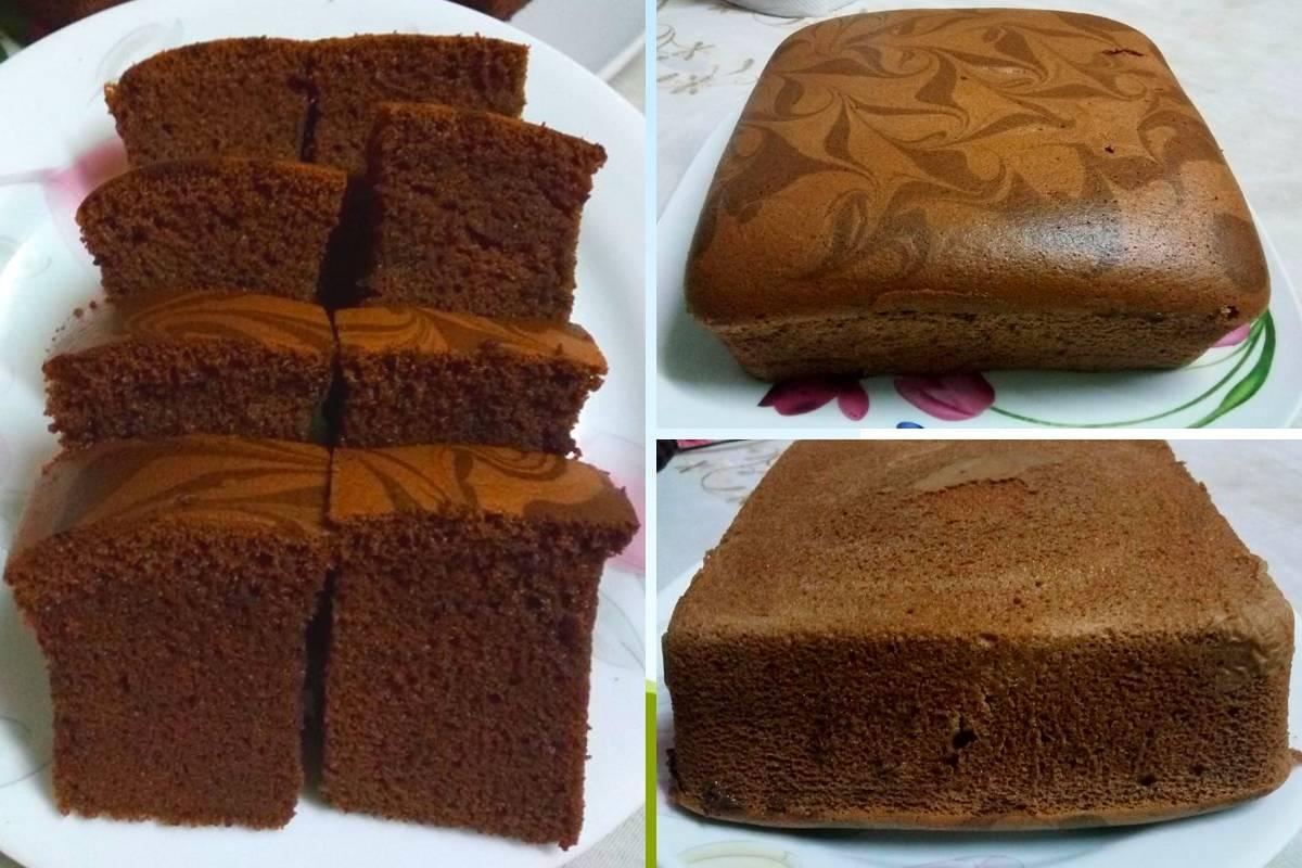 Resipi Kek Span Coklat Terlajak Gebu Mudah Buat Rasa