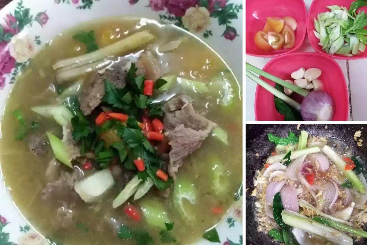 Sup Tulang Ala Thai Kaw Kaw Power