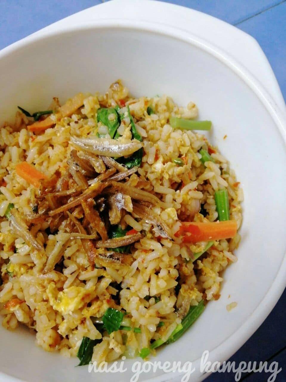Nasi Goreng Kampung Tak Pernah Jemu Dimakan, Ini Resipi Paling Sedap