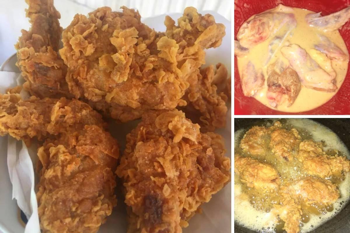 Cara Masak Ayam Goreng Ala Kfc Secara Homemade