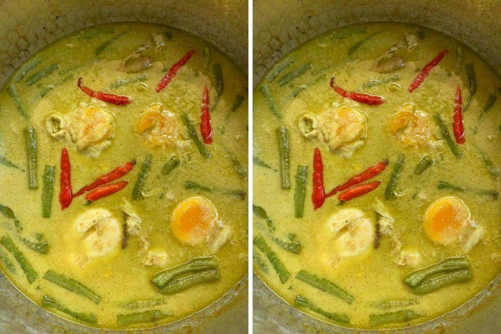 Masak Lemak Telur Dengan Kacang Panjang Lauk Simple Waktu Sibuk