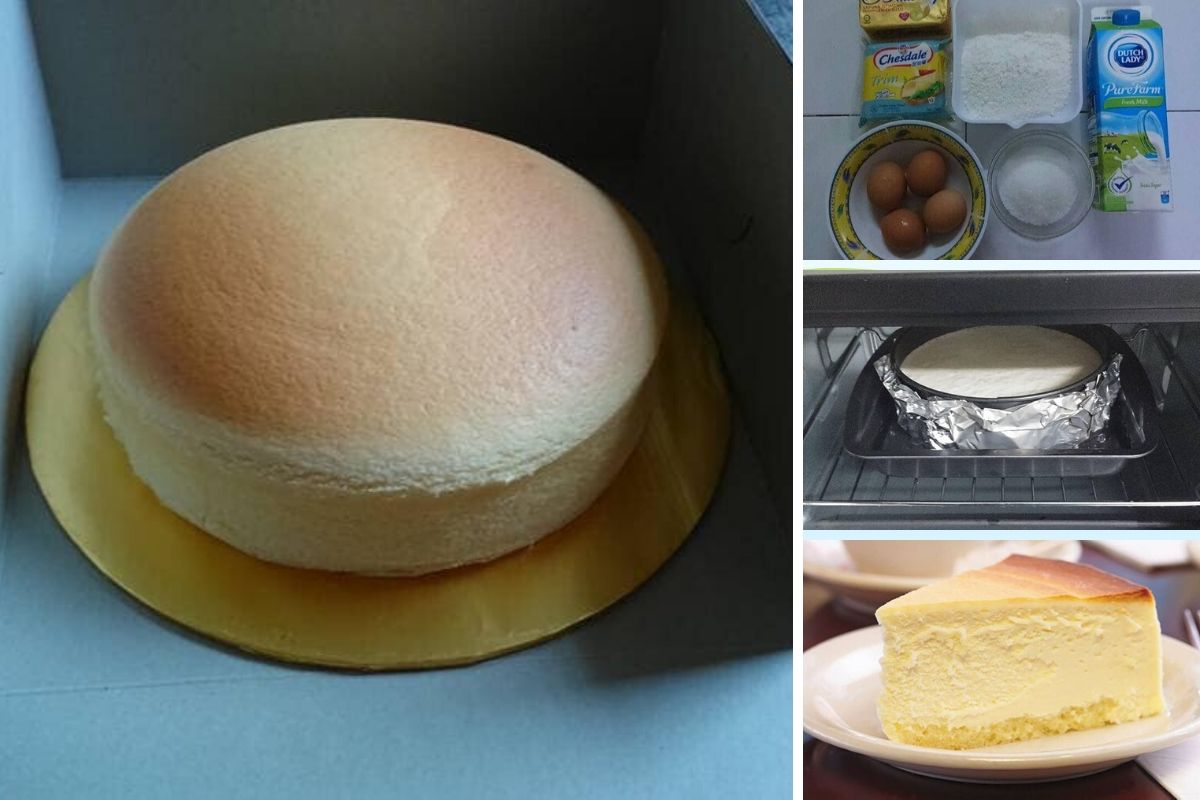 caranya nak buat kek keju gebu ikut sukatan  betul  menjadi Resepi Kek Coklat Moist Bakar Enak dan Mudah