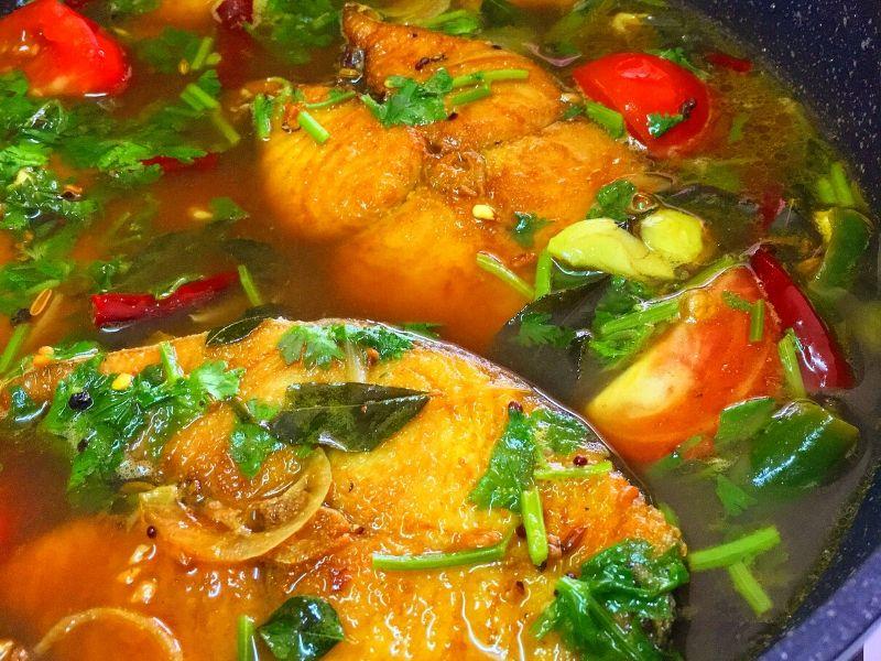 rasem ikan tenggiri  rempah ratus  menghangatkan badan Resepi Telur Ikan Tenggiri Goreng Enak dan Mudah