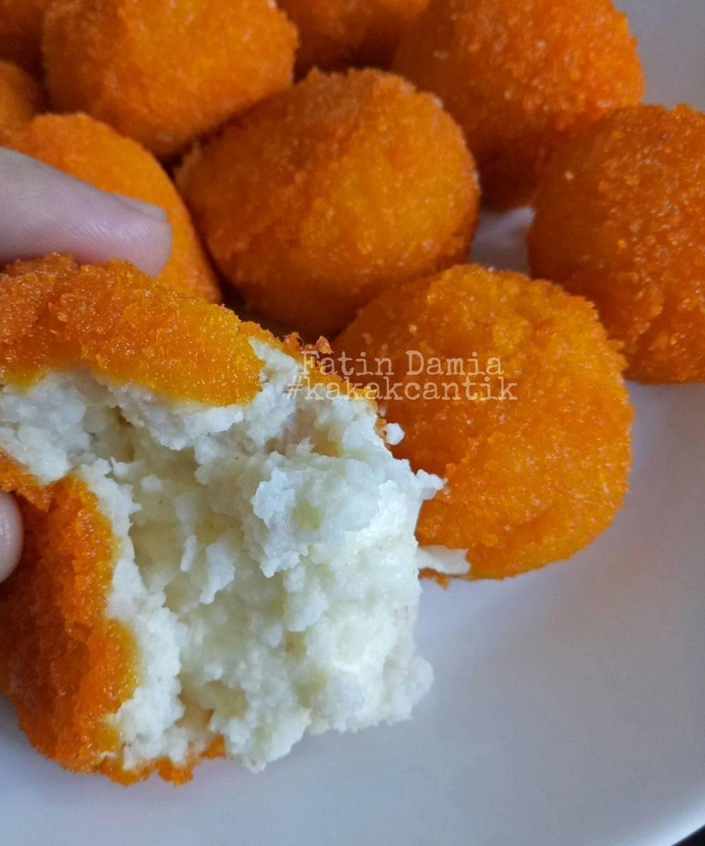 manfaatkan lebihan nasi jom buat nugget nasi sedap ni Resepi Biskut Nasi Lemak Enak dan Mudah