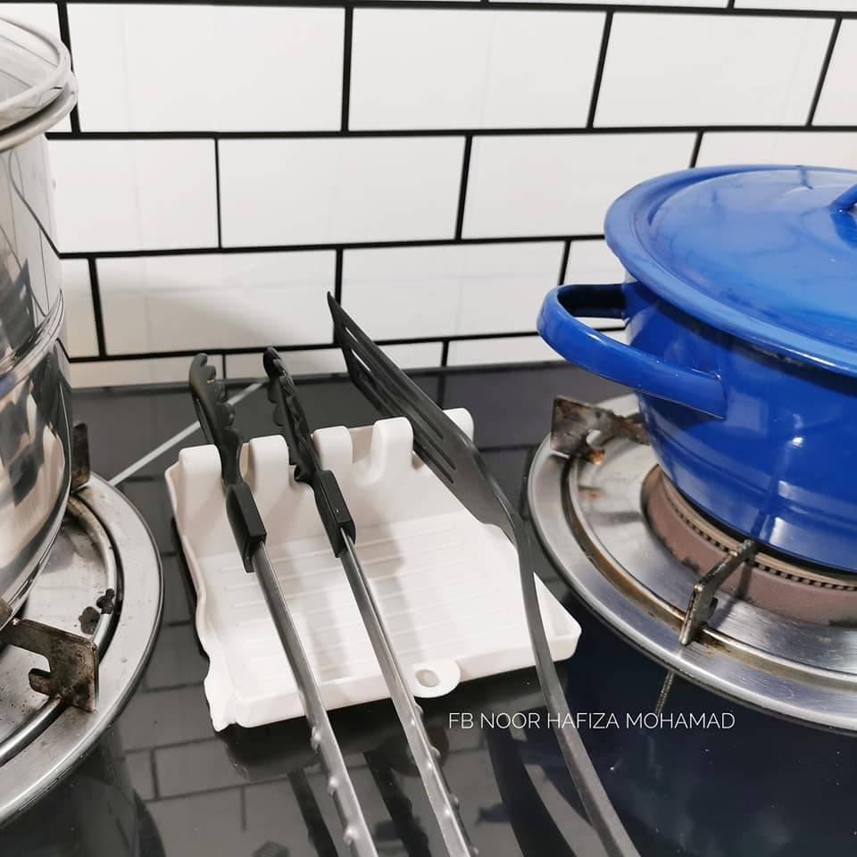 Wanita Ini Kongsi Cara Nak Susun Dapur Guna Organizer Kecil Walau Kecil Saiz Besar Manfaatnya