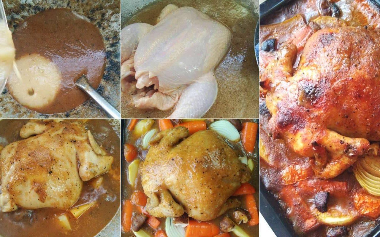 resipi ayam bakar ala kenny rogers sedap tak guna  bahan Resepi Ayam Bakar Untuk Nasi Kerabu Enak dan Mudah